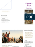 Folleto Biblia y Teologia