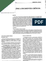 Ética - Investigação Em Pacientes Criticos