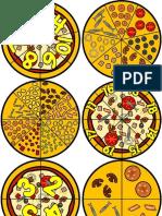 Pizzas de Numeros