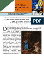 HORA SANTA con San Pedro Julián Eymard. Jesús manso y humilde corazón (37.a).pdf