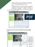 Como cargar imágenes en many cam y automatizar su transición