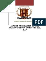Resolucion Juridico Caso Mensajeria y Paqueteria Mexico