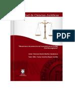 Mecanismos de Protección de La Posesión en Código Civil