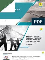 Pembelajaran Petugas Proteksi Radiasi Industri Tingkat 3