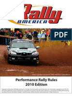 2010 Rally America Rule Book