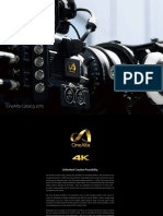 Sony Brochure of Cinealta Venice