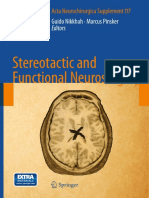 Stereotactic and Functional Neurosurgery