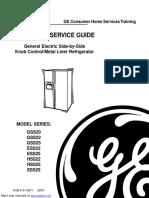General Electric Refrigerator ESS25