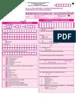 Formulario Discapacidad