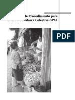 Manual de Procedimiento Para El Uso de La Marca Colectiva GPAE