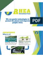 Rhea International Team - Aquaponics