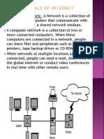 Fundamentals of Internet1