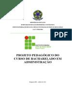 2012 - Projeto Administração IFNMG Pirapora 2011