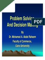 Problem Solving-Dr.mohamed Abdallah