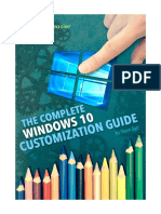 The Complete Windows 10 Customization Guide v2 eBook