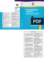 Comprensión lectora 5 manual para el docente de quinto grado de Secundaria.pdf