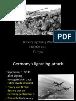 hitlers lightning war - condensed