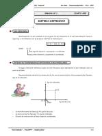TRIGONOMETRIA  Sistema Cartesiano