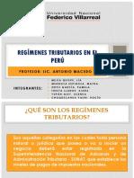 Régimen Tributario en El Perú