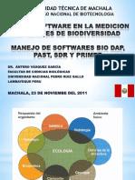 Software en El Estudio de La Biodiversidad