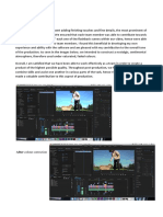 Post Production Diary 3