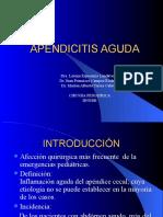 APENDICITIS AGUDA.cuadro clínico