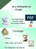 Asepsia y Antisepsia en Cirugia