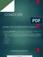 CONÓCETE (TUTORIAS)