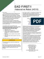 182917-1 - Human Collaborative Robot (HC10) – READ FIRST.pdf