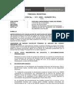 Tribunal Registral - Registro Mobiliario de Contratos