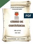 Cód.convivencia Cbch Para El 2018 - 2019