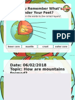 How Are Mountains Formed (2)
