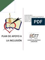 Plan de Apoyo a La Inclusión
