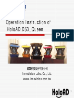 HoloAD DS3 Queen Operation Instruction 110311
