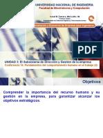 Lecture 14 - Fundamentos Del Comportamiento Humano en El Trabajo (2da).