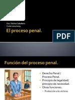 Tema 1 - El Proceso Penal