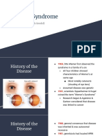 Werner Syndrome