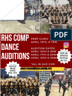 audition poster 2018