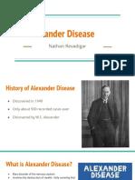 Alexander Disease