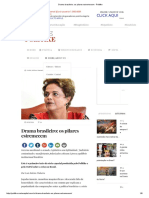 Drama Brasileiro - Os Pilares Estremecem