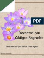 Decretos con Códigos Sagrados 13-2