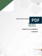 Formato de Ficha Ambiental