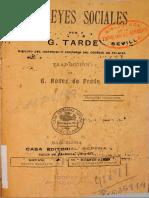 TARDE, Gabriel - Las Leyes Sociales.pdf
