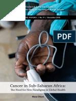 Cancer in Sub-Saharan Africa 2015