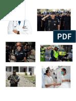 Doc Policia Cartero Militar Enfermera