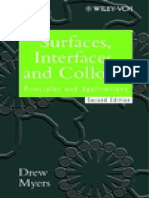D. Myers - Surfaces, Interfaces and Colloids - Principles and Applications