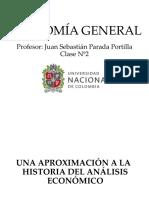 Economía General 2018-1 Clase Nº2