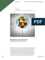 Why Bitcoin is Doomed to Fail – Orge Castellano – Medium