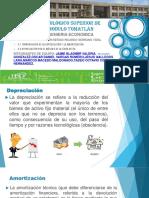 3.1 Terminología de La Depreciación y La Amortización.