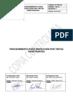 GT-PRO-25 PROCEDIMIENTO PARA INSPECCION POR TINTAS PENETRANTES - COPIA CONTROLADA (1).pdf